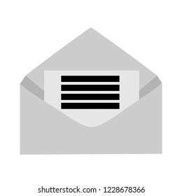 Mail icon. Envelope symbol. Message sign. Mail button