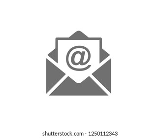 Mail Icon Symbols vector icon