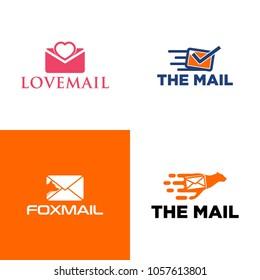 Mail logo vector