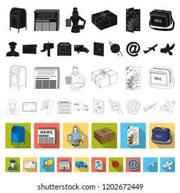 Accessories Postman Card Images, Stock Photos & Vectors