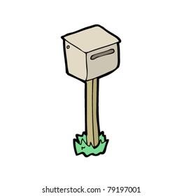 mailbox cartoon