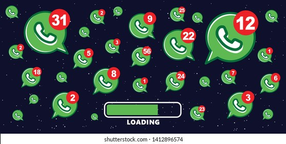Mailbox chat Contact us symbols Social Media network icons icon call us email at mobile signs sign fun funny talk Network digital chat People connect business digital school whatsapp app Vector