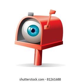mailbox llustration