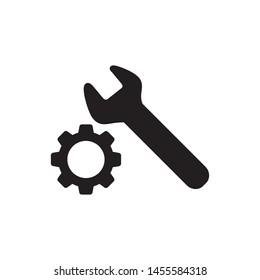 maintenance icon vector symbol template
