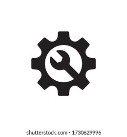 Maintenance, repair icon symbol isolated