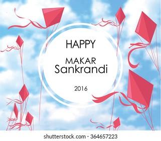 Makar Sankranti, Sankranti or Sankranthi is one of the main festival in India