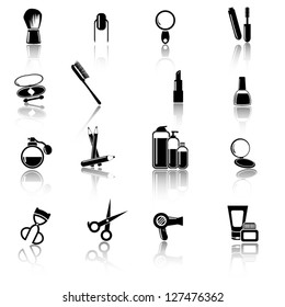 Make up and beauty icons