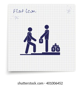 Make money icon.