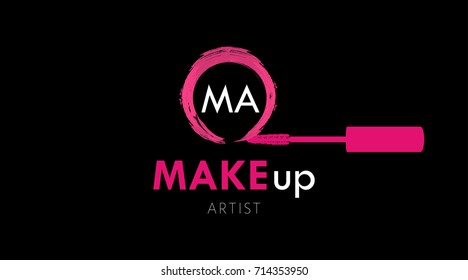 Makeup Artist Logo Images Stock Photos Vectors Shutterstock