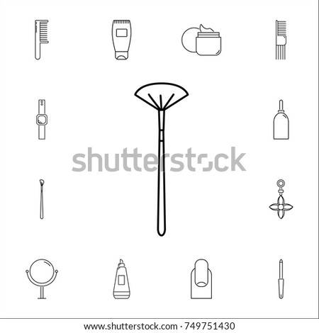 in black and white makeup brush diagram content resource of wiring rh racopestcontrol co uk Black N White Eyebrows Black and White Cake
