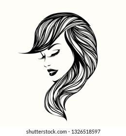 Girls Face Logo Images Stock Photos Vectors Shutterstock