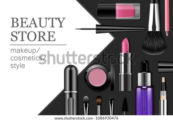 Beauté Cartes d/'affaires pour maquillage des artistes-personalsied texte /& photo