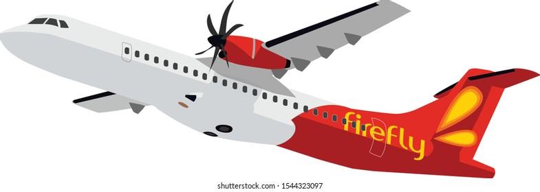 Malaysia Firefly ATR 72 - 600