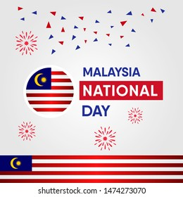 Malaysia Independence Day Vector Design Template