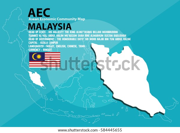 Map Of Asia Malaysia.Malaysia World Map Malaysia Southeast Asia Stock Vector Royalty