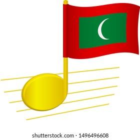 Music Flag Images Stock Photos Vectors Shutterstock