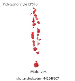 Maldives Map Stock Vectors, Images & Vector Art | Shutterstock
