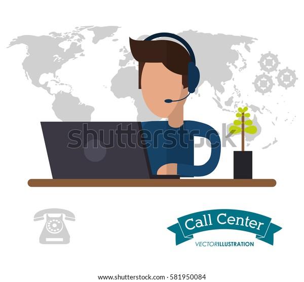 male call center working desk world helpline