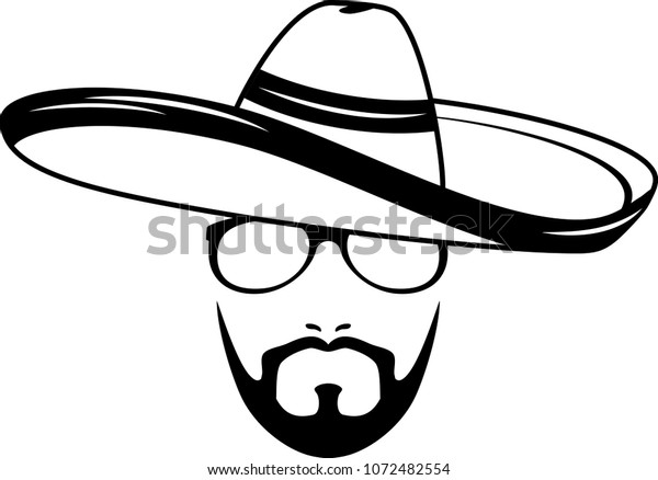 male-face-sombrero-icon-hipster-600w-107