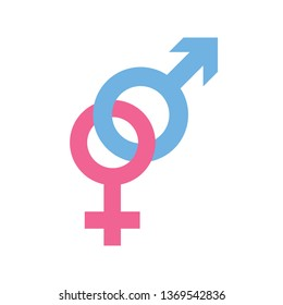 male female sexual symbol
