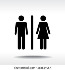 Bathroom Symbols Images, Stock Photos & Vectors | Shutterstock