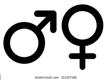 Male and Female Symbols Images, Stock Photos & Vectors