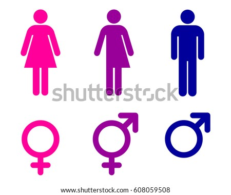 Male Female Transgender Unisex Symbols