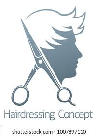 Male Female Hair Salon Logos Images Stock Photos Vectors Shutterstock