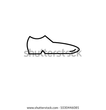 0430a21331 male shoes icon. Element of clothes icon. Premium quality graphic design.  Signs