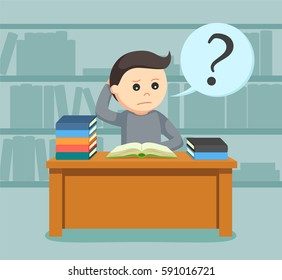 Confused Student Images, Stock Photos & Vectors | Shutterstock