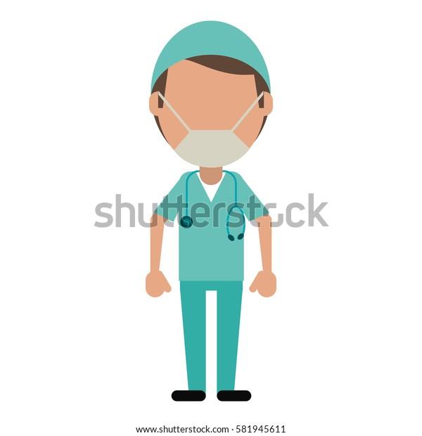 male surgeon medical professional