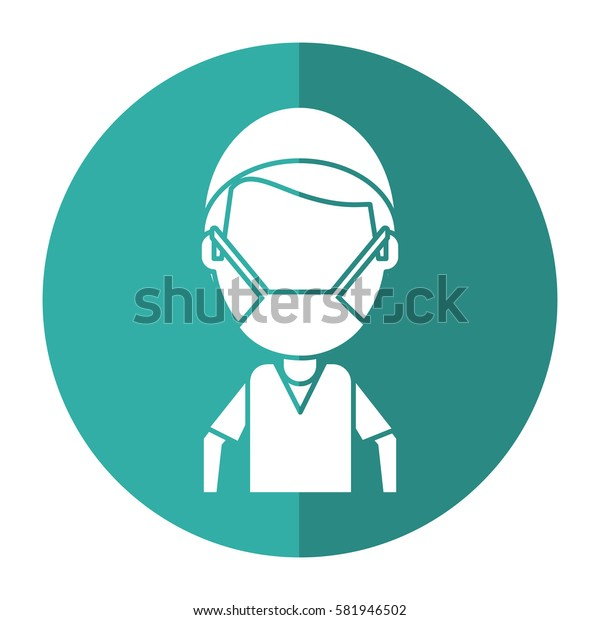 male surgeon medical professional shadow