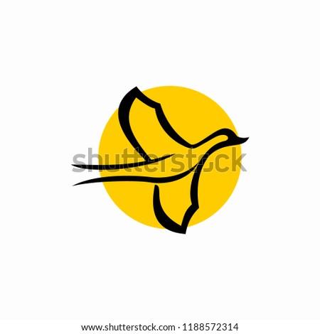 Mallard Vector Logo Duck Logo Stock Vector Royalty Free 1188572314
