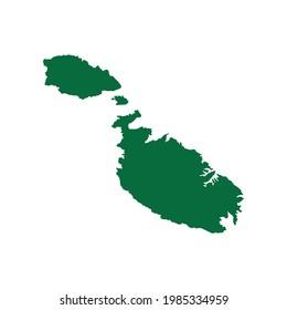 Malta Map. Malta Map vector. Malta Map illustration. Malta map chart