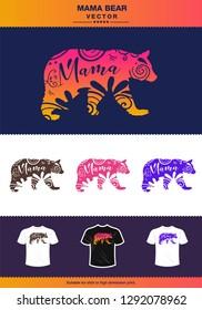 Mama Bear shirt concept