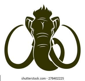 Mammoth head.