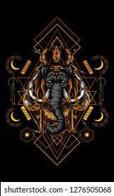 Mammoth lembuswana sacred geometry