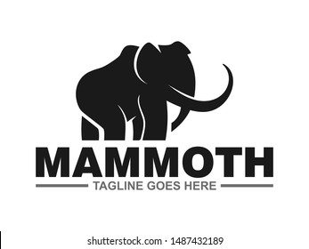 mammoth logo for your business , simple clean logo