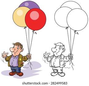 Balloon Seller Images, Stock Photos & Vectors | Shutterstock