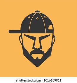 Man baseball cap
