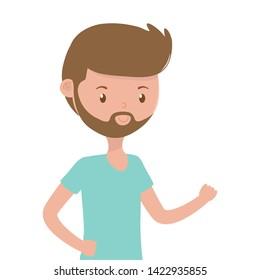 Man cartoon design vector illustration