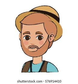 man cartoon icon