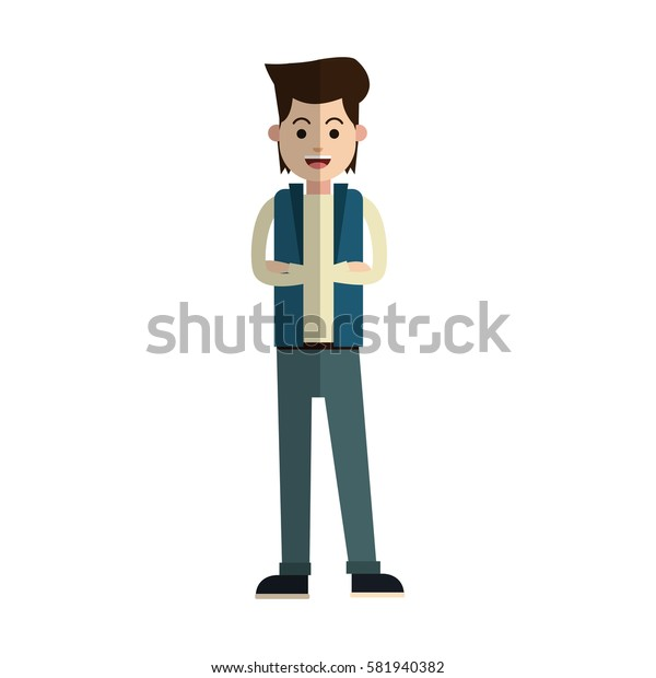 man cartoon icon