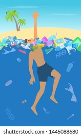 Drowning Person Images, Stock Photos & Vectors | Shutterstock