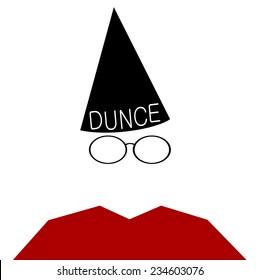 Woman Red Dunce Cap Stock Illustration 288499415 - Shutterstock