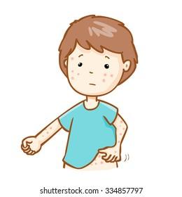 Rash Cartoon Images Stock Photos Vectors Shutterstock
