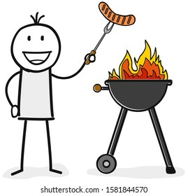 BBQ Clipart Barbeque Clipart Summer Clipart Grill Party | Etsy