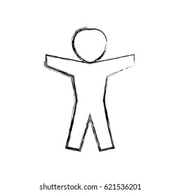 Man pictogram symbol