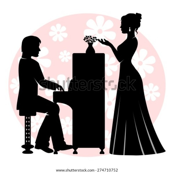 Transparent Man Playing Piano Clipart - Piano Man Clipart, HD Png Download  - kindpng