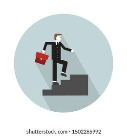 man raise up stairs icon - From web, universal and Miscellaneous Icons set